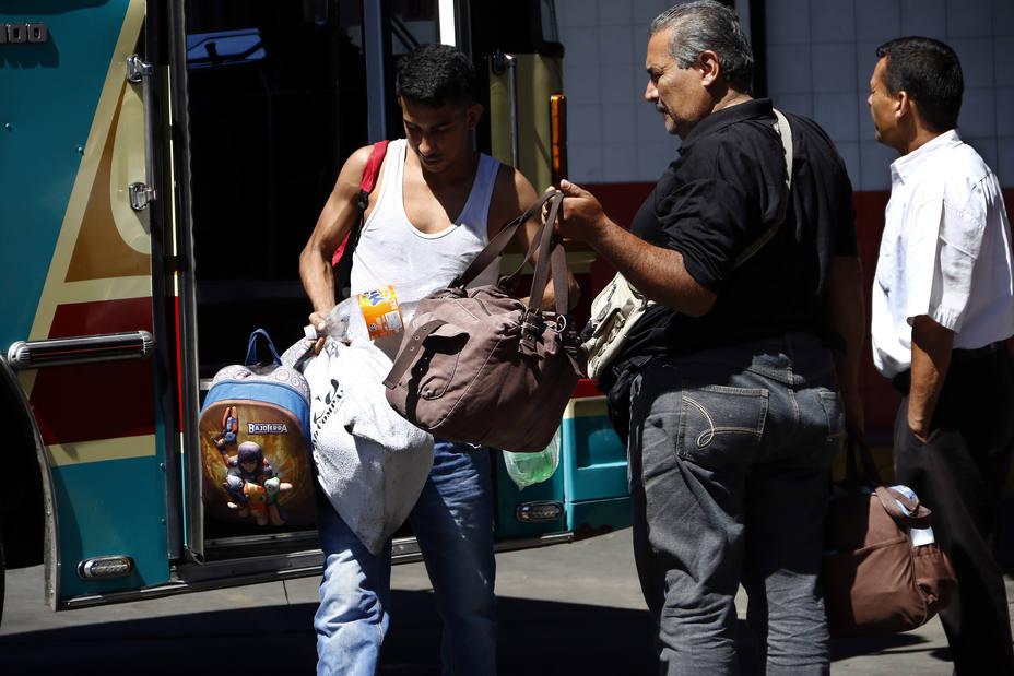 Al menos 40 mil personas retornaron a Caracas por la Terminal La Bandera