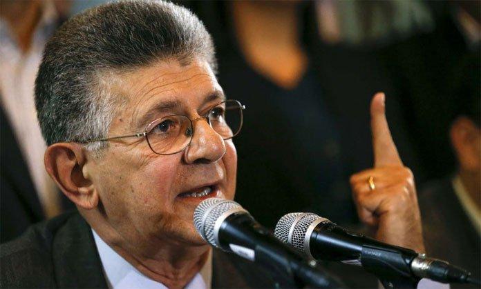 Ramos Allup: Pronto se publicará lista de funcionarios que sacaron a sus familias del país