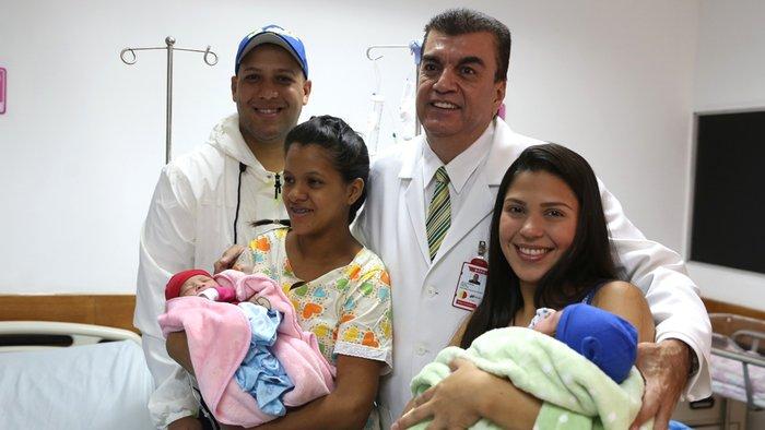 Shaddar, Diana y Leoneidis las primera en nacer en el 2017