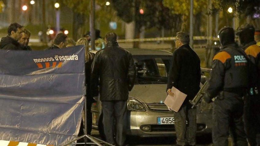 Tiroteo en Barcelona, España deja un muerto y dos heridos