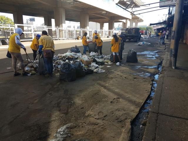 Zonas comerciales de Maracaibo libres de basura