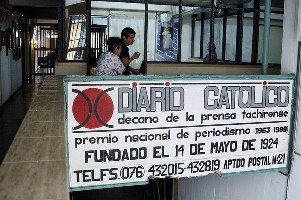 """Diario Católico, el """"Decano de la prensa tachirense"""" cierra indefinidamente"""