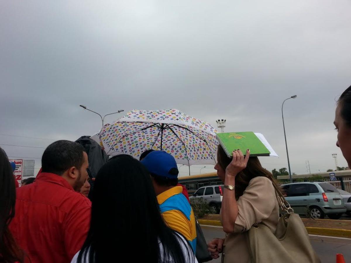 Inameh prevé este domingo lloviznas y lluvias aisladas en gran parte del país