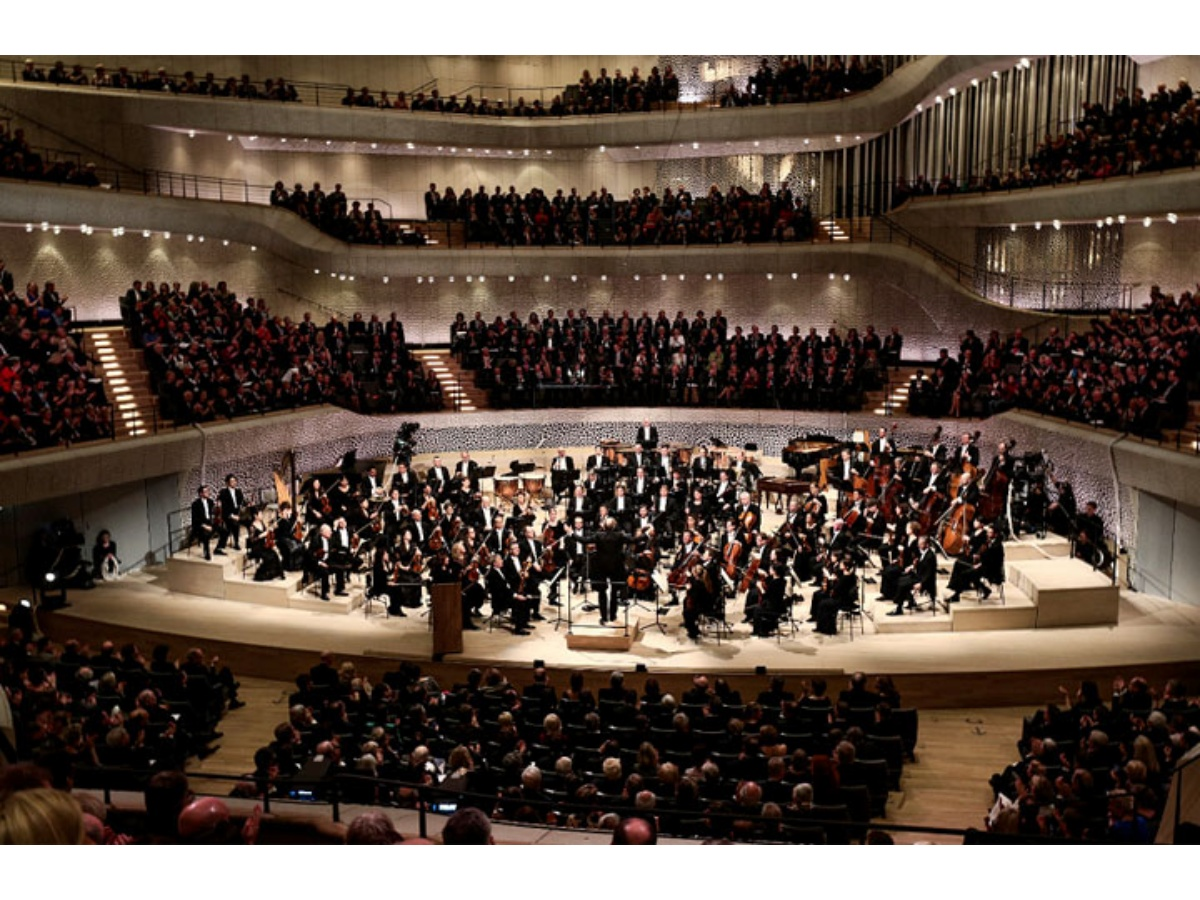 Inauguraron sala Filarmónica en Hamburgo 'con Beethoven y Wagner'