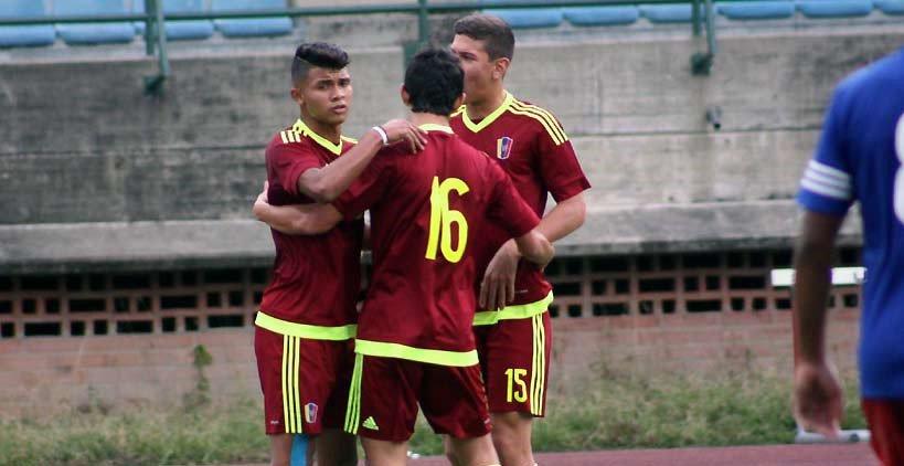 Vinotinto Sub17 disputó amistoso en el estadio Brígido Iriarte