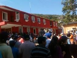 Protesta en Sucre por rehabilitación de Balneario Cachamaure Foto: Ysamira Salazar