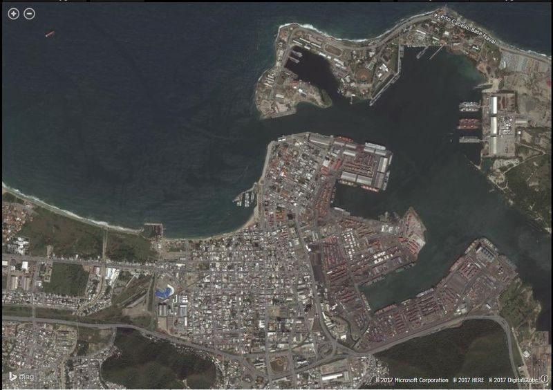 Foto satelital de Puerto Cabello desolado convenció a fondo de inversión de la crisis venezolana