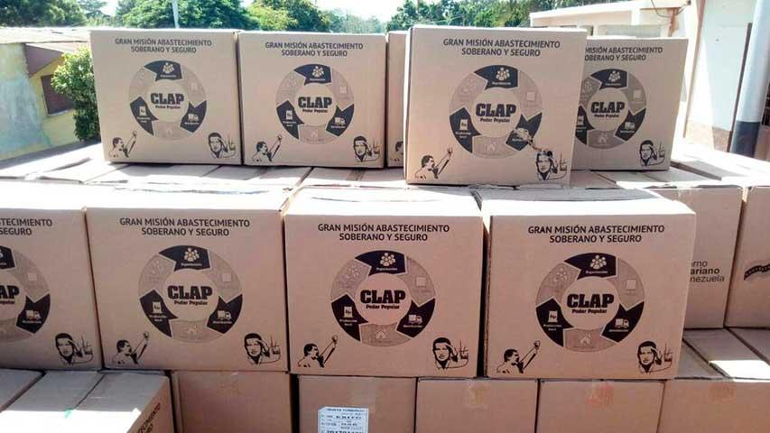 Gobierno enviará 100 mil cajas Clap como ayuda humanitaria a Perú