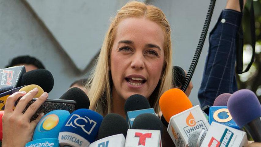 Lilian Tintori pidió a países de la OEA apoyar a Venezuela