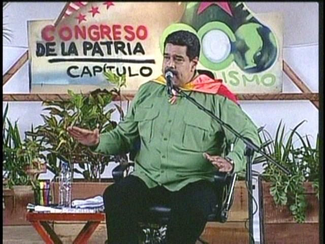 """Maduro: """"Apoyo de la AN a la Carta Democrática es traición a la patria y debe haber justicia"""""""