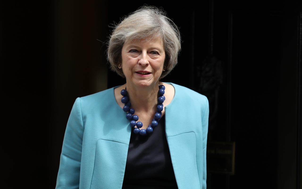 """May dice que el brexit es """"un punto sin retorno"""""""