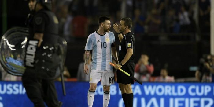 Messi, sancionado con cuatro partidos de suspensión