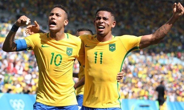 Brasil aseguró su lugar en Rusia 2018