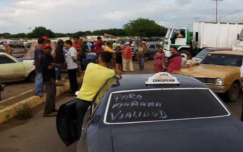 Convocan a paro de transporte público en Zulia