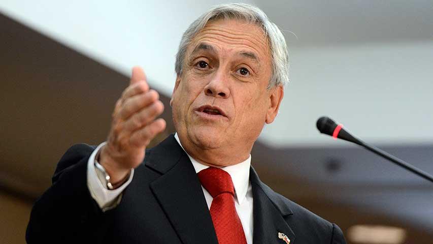 Piñera será proclamado este martes candidato a presidente de Chile