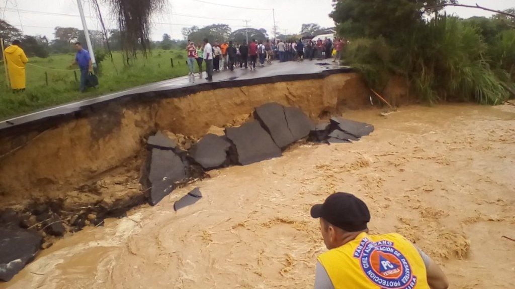 Táchira: Habilitan rutas alternas ante colapso de la Troncal 1