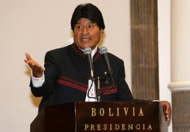 Evo Morales culpa a Luis Almagro por la violencia en Venezuela