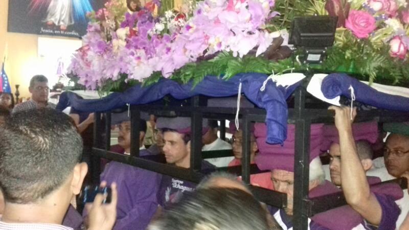 gobernador procesión