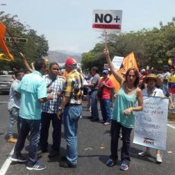 En Maracay continúan las concentraciones