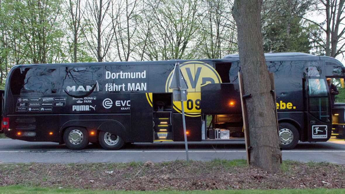 """Detienen a un sospechoso """"islamista"""" por las explosiones del autobús del Dortmund"""