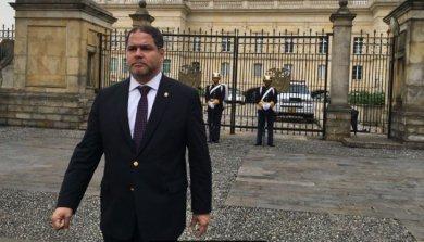 Florido se reunió con Santos para tratar tensión en Venezuela