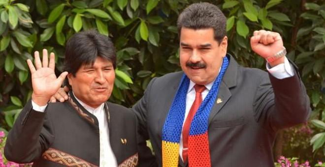 """Evo Morales asegura que """"planes intervencionistas"""" en Venezuela son para apoderarse del petróleo"""
