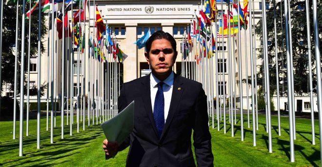 Lester Toledo denunció ante Naciones Unidas los últimos crímenes del régimen de Maduro