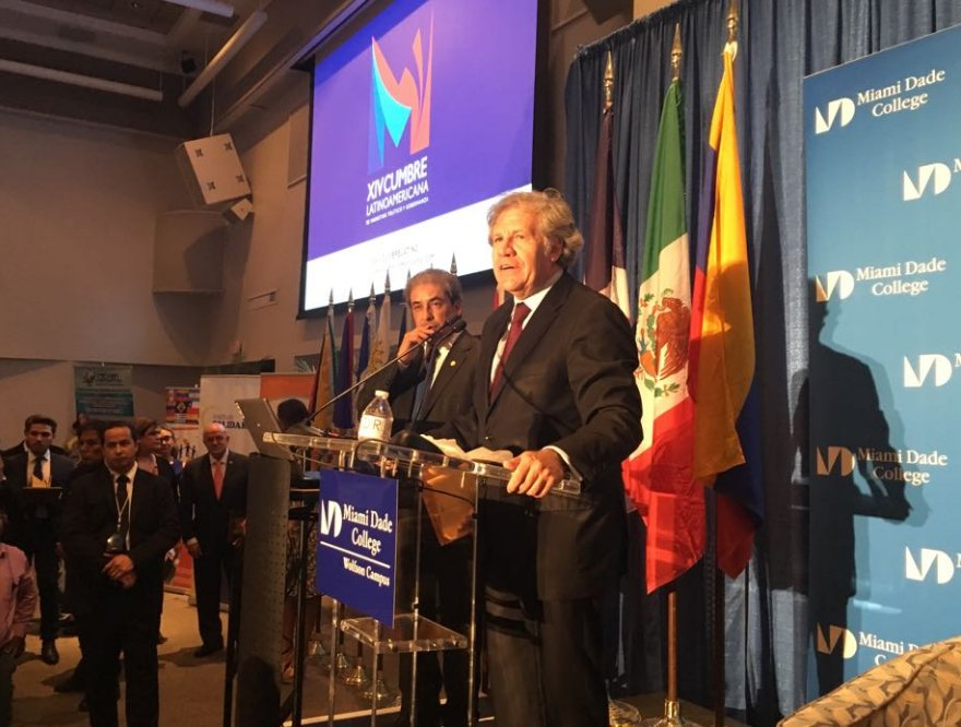 Almagro sobre Venezuela: La violencia es la peor forma de hacer política