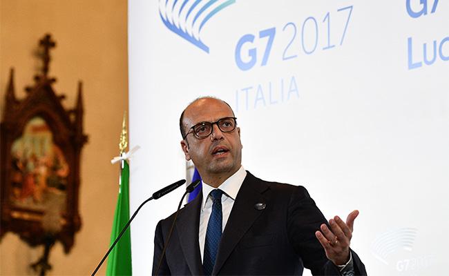 Ministro italiano del Exterior condena violencia en Venezuela y pide respeto a DDHH