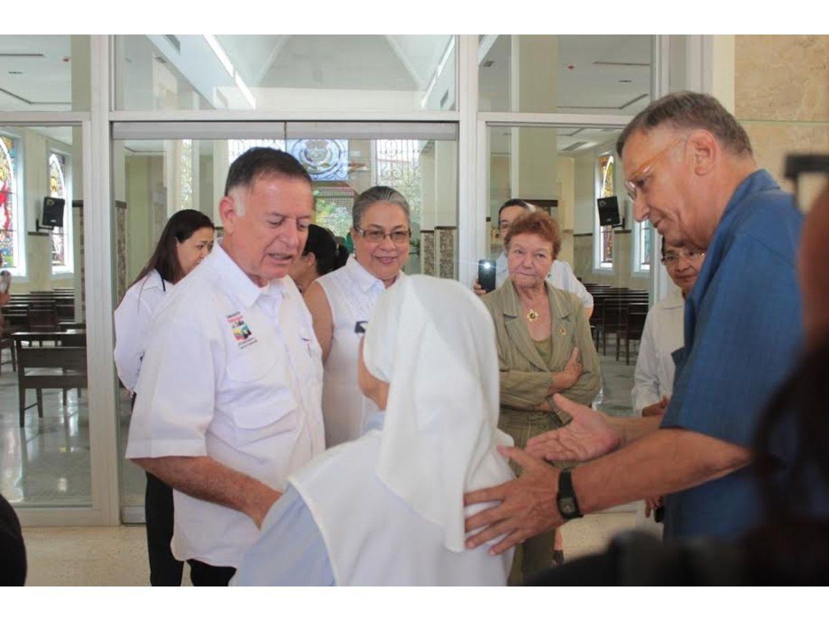 Arias anunció 300% de aumento en el aporte a la Casa Hogar San José de la Montaña