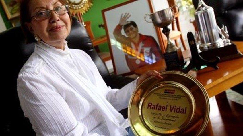 Asesinos de madre de Rafael Vidal solo se robaron las medallas olímpicas