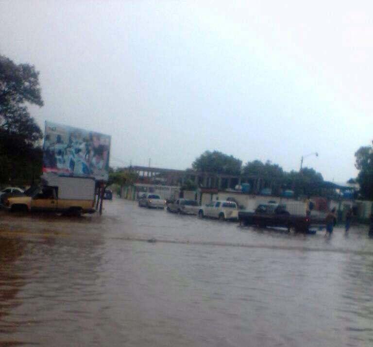 Así está el oeste de la ciudad tras el palo de agua (Fotos + Video)