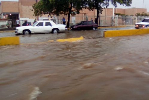 Así quedó Maracaibo luego de tres horas de lluvia (fotos)