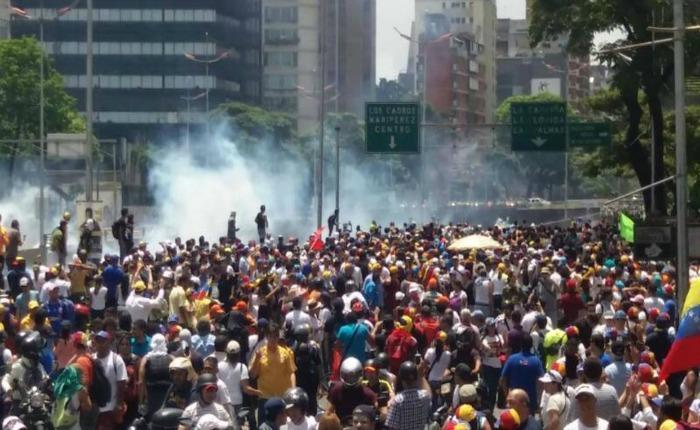 Así reprimió la PNB y la GNB a los venezolanos durante las manifestaciones de los últimos días