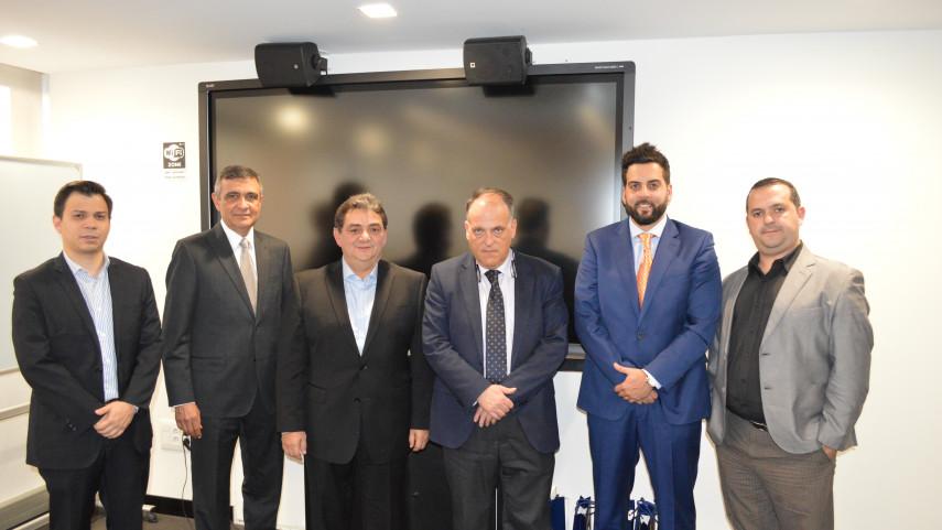 Asociación de Venezuela de Fútbol trabajará de la mano con la liga española