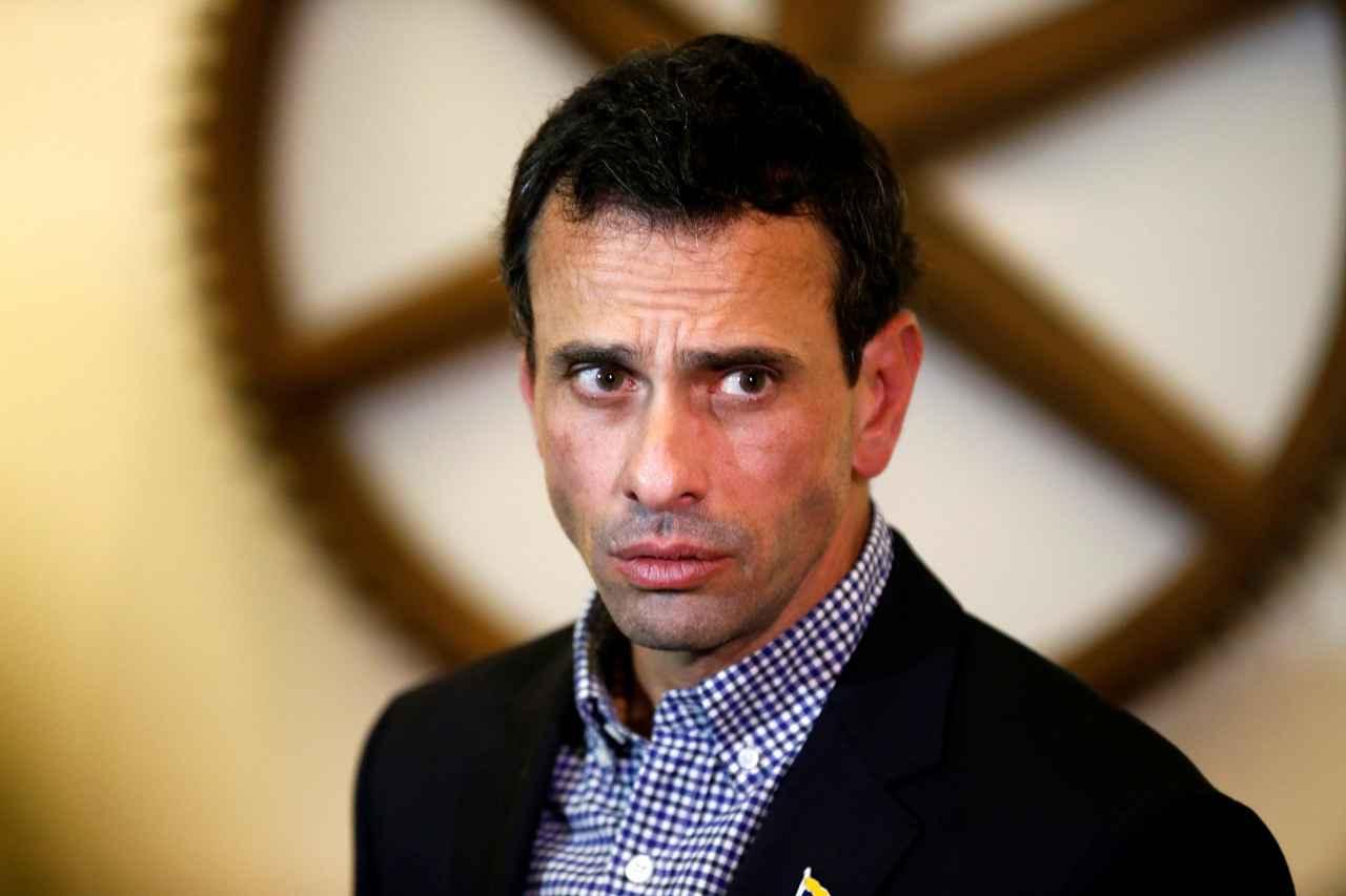 Capriles propone someter a referéndum su inhabilitación en Miranda