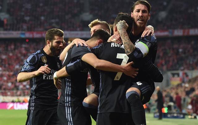 Con un doblete de Cristiano Ronaldo Real Madrid venció 2-1 al Bayern de Múnich
