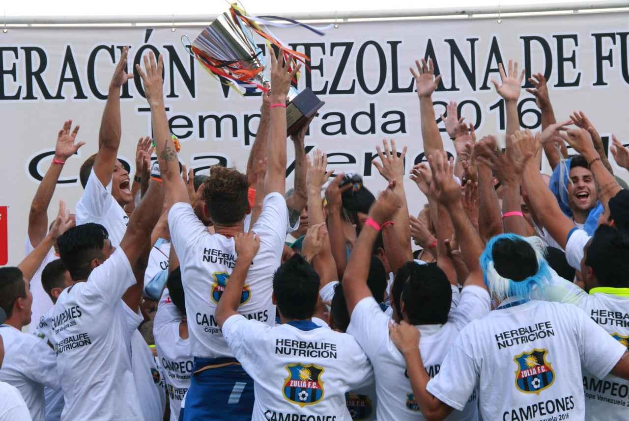 Cuatro equipos zulianos verán acción en la Copa Venezuela 2017