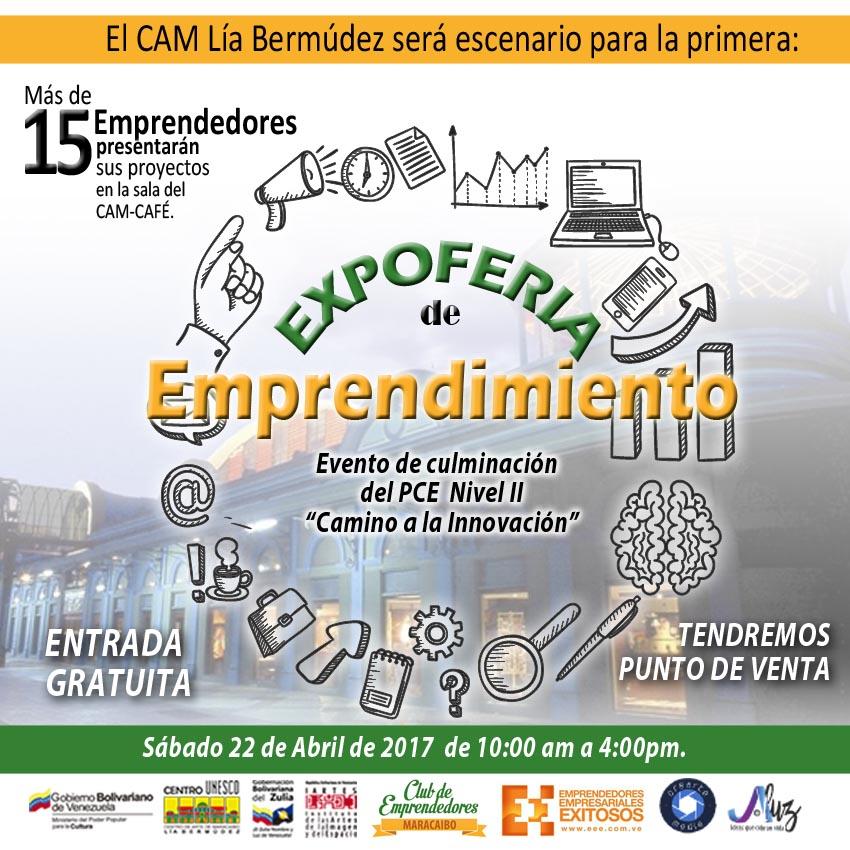 Descubre el camino a la innovación en la ExpoFeria de Emprendimiento este sábado en el CAMLB