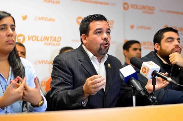 """Eduardo Vale: """"La represión de Arias no detendrá las movilizaciones en el Zulia"""""""
