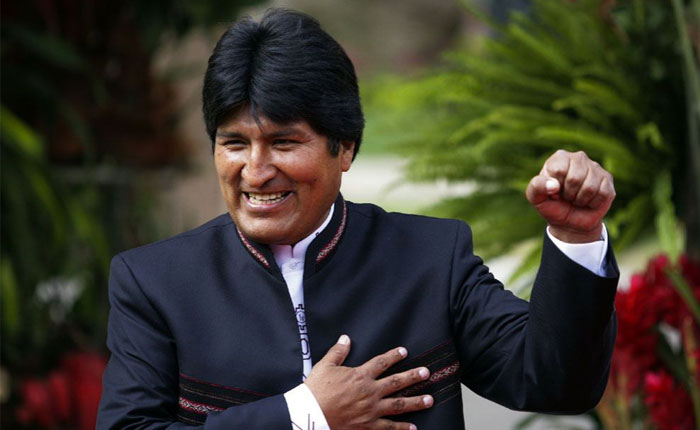 Evo Morales responsabiliza a Almagro por la violencia en Venezuela