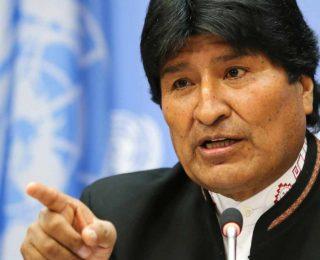 Evo Morales culpa a Almagro por violencia en Venezuela