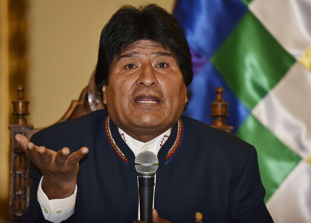 Evo Morales afirma que Almagro busca un golpe de Estado en Venezuela