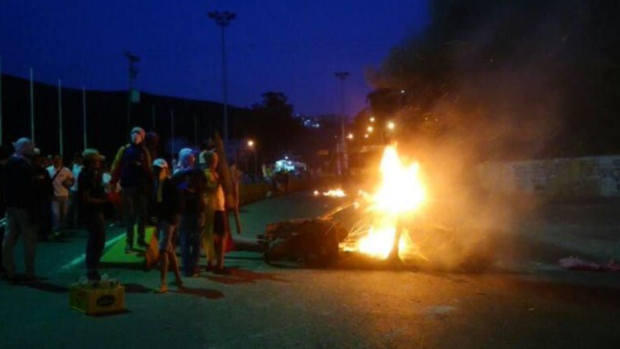 GNB dispersó protesta en Carrizal
