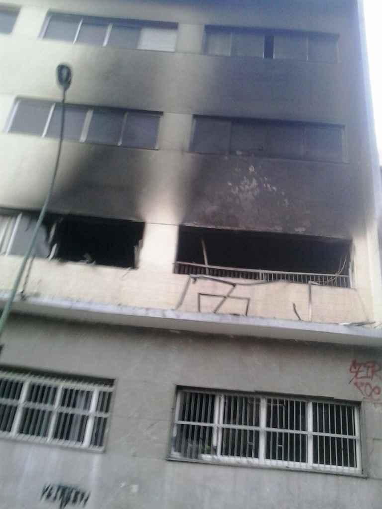 Incendiaron la sede del Instituto Nacional de Nutrición en Quinta Crespo