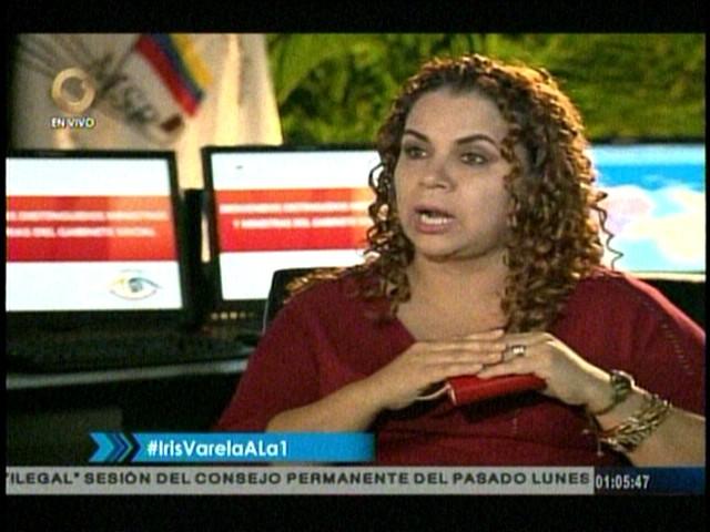 Iris Varela: La Fiscal no puede cuestionar las decisiones del TSJ