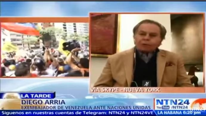 La situación no la va a cambiar la OEA ni Naciones Unidas sino los venezolanos