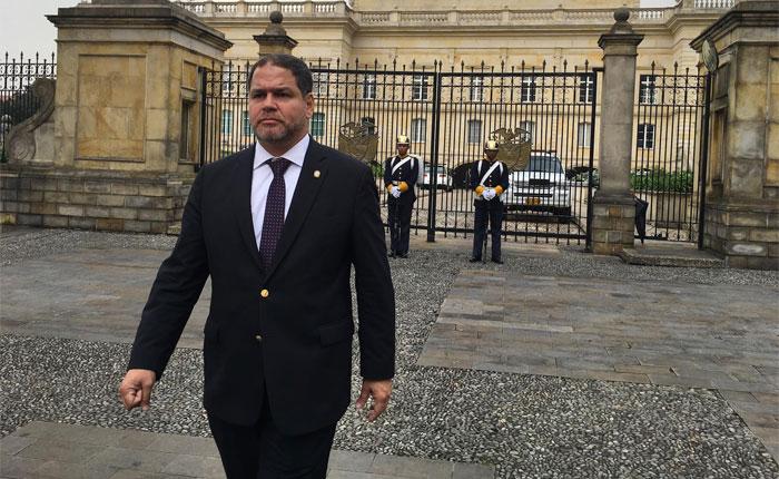 Luis Florido se reunió con Juan Manuel Santos para plantear soluciones a crisis en Venezuela