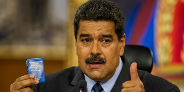 Maduro: Oposición pretendió sabotear la procesión del Nazareno, son el anticristo