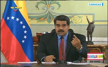 "Maduro rechaza ""saboteo"" de opositores a procesión del Nazareno"